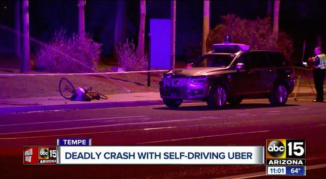 Vụ tai nạn do Uber gây ra: Xe tự lái đã nhìn thấy nạn nhân từ xa nhưng cho rằng đó chỉ là một chiếc túi nilon - Ảnh 1.