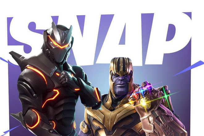 Thanos trong Fortnite không những vẫn sở hữu sức mạnh bá đạo mà còn biết nhảy và dab cực chất - Ảnh 1.