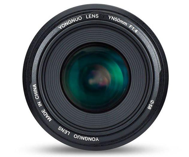 Yongnuo ra mắt ống kính 50mm f/1.4 II cho ngàm Canon EF: thiết kế chắc chắn hơn, 7 lá khẩu cho bokeh sao 14 cánh, giá chỉ bằng một nửa hàng Canon - Ảnh 2.