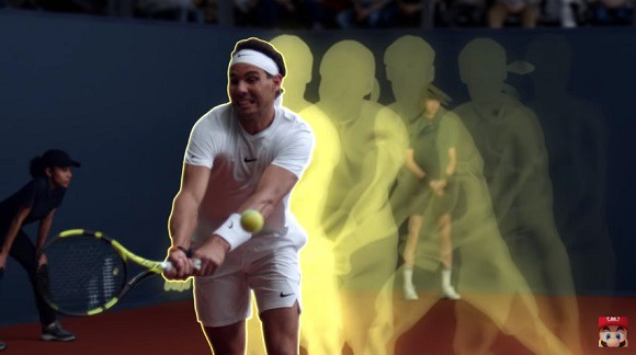 Nadal so tài với Mario, ai mới là nhà vô địch trong bộ môn quần vợt? - Ảnh 6.