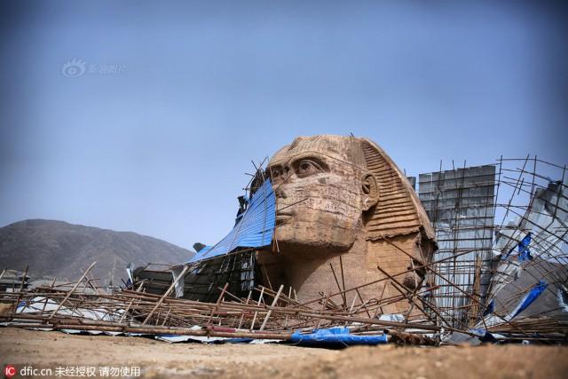 Tượng Nhân Sư photocopy ở Hà Bắc được hồi sinh, Ai Cập tiếp tục đệ đơn khiếu nại Trung Quốc lên UNESCO - Ảnh 7.