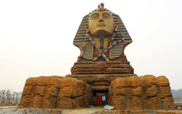 Tượng Nhân Sư photocopy ở Hà Bắc được hồi sinh, Ai Cập tiếp tục đệ đơn khiếu nại Trung Quốc lên UNESCO - Ảnh 9.