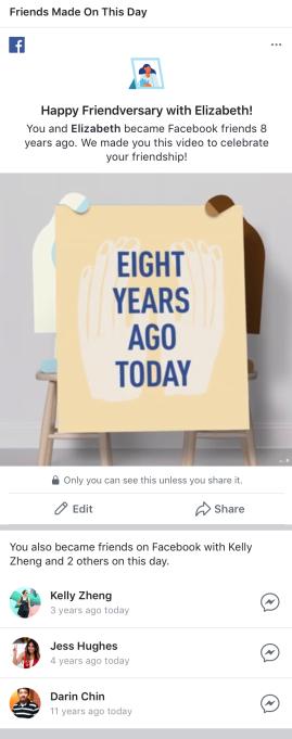 Facebook ra mắt tính năng Memories để cho người dùng lội dòng kí ức - Ảnh 3.