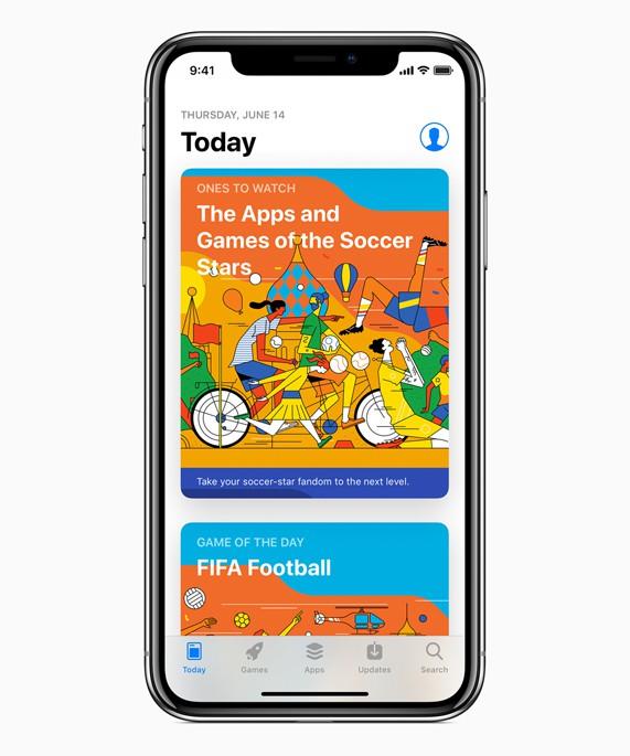 Apple cập nhật Siri, App Store và News để sẵn sàng cho World Cup 2018 - Ảnh 1.