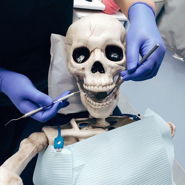 Chết cười với bộ xương chuyên cosplay hội chị em ham sống ảo - Ảnh 8.