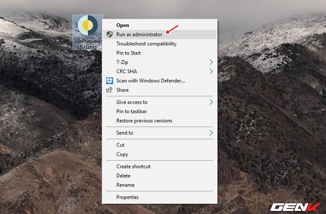 Cách mang tính năng Dynamic Desktop của macOS Mojave lên Windows 10 - Ảnh 3.