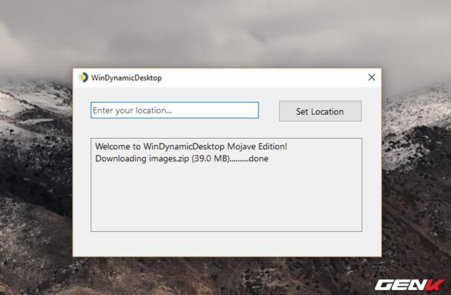 Cách mang tính năng Dynamic Desktop của macOS Mojave lên Windows 10 - Ảnh 4.