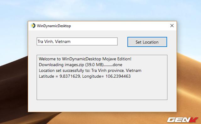 Cách mang tính năng Dynamic Desktop của macOS Mojave lên Windows 10 - Ảnh 5.