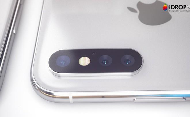 Nhiều khả năng đến 2019 thì iPhone X Plus mới có hệ thống camera 3 ống kính - Ảnh 2.