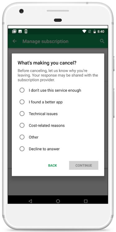 Google cập nhật tính năng quản lý ứng dụng trả phí hàng tháng trong Play Store, muốn giúp người dùng hạn chế bị trừ tiền oan mỗi tháng - Ảnh 3.