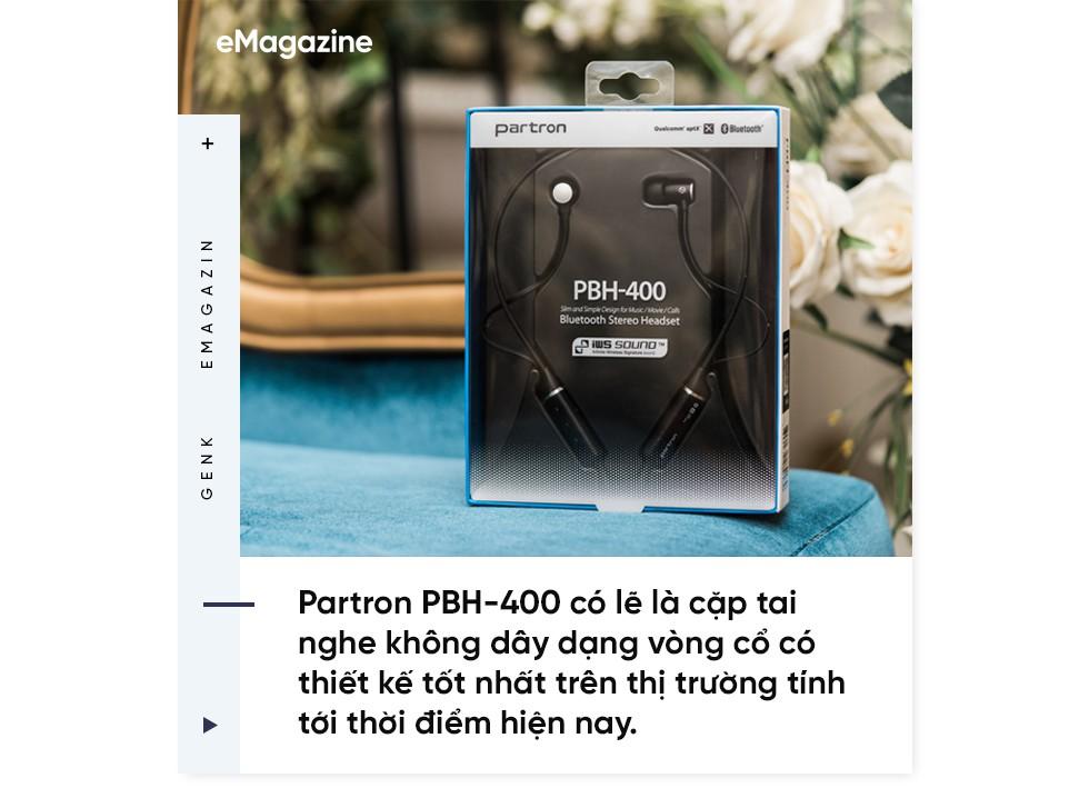 Đánh giá tai nghe không dây Partron PBH-400 - Tính chuẩn mực cao tạo nên một sản phẩm đáng mua - Ảnh 3.
