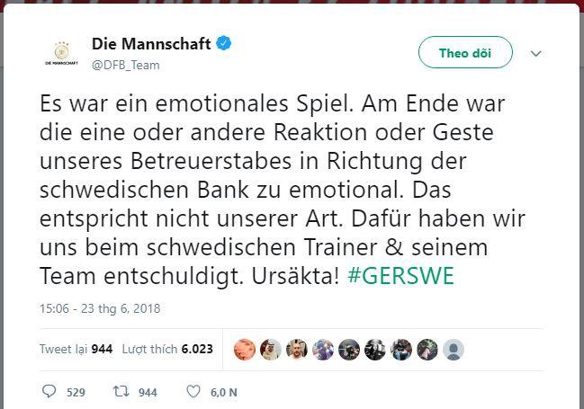 [World Cup 2018] Đức xin lỗi Thụy Điển vì màn ăn mừng quá trớn sau bàn thắng của Toni Kroos - Ảnh 2.