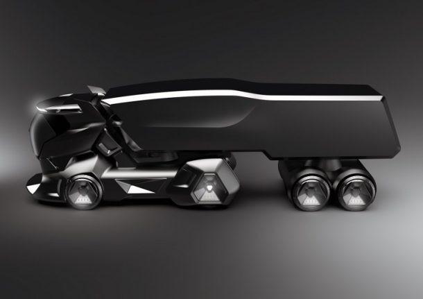 Concept xe tải Audi: Đẹp và sang hơn cả Tesla Semi - Ảnh 3.