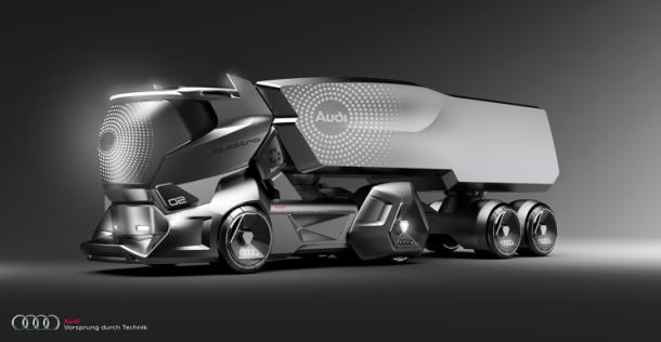 Concept xe tải Audi: Đẹp và sang hơn cả Tesla Semi - Ảnh 2.