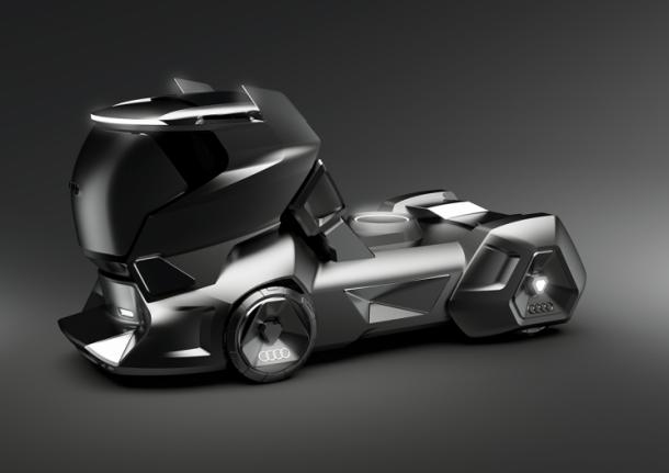 Concept xe tải Audi: Đẹp và sang hơn cả Tesla Semi - Ảnh 1.