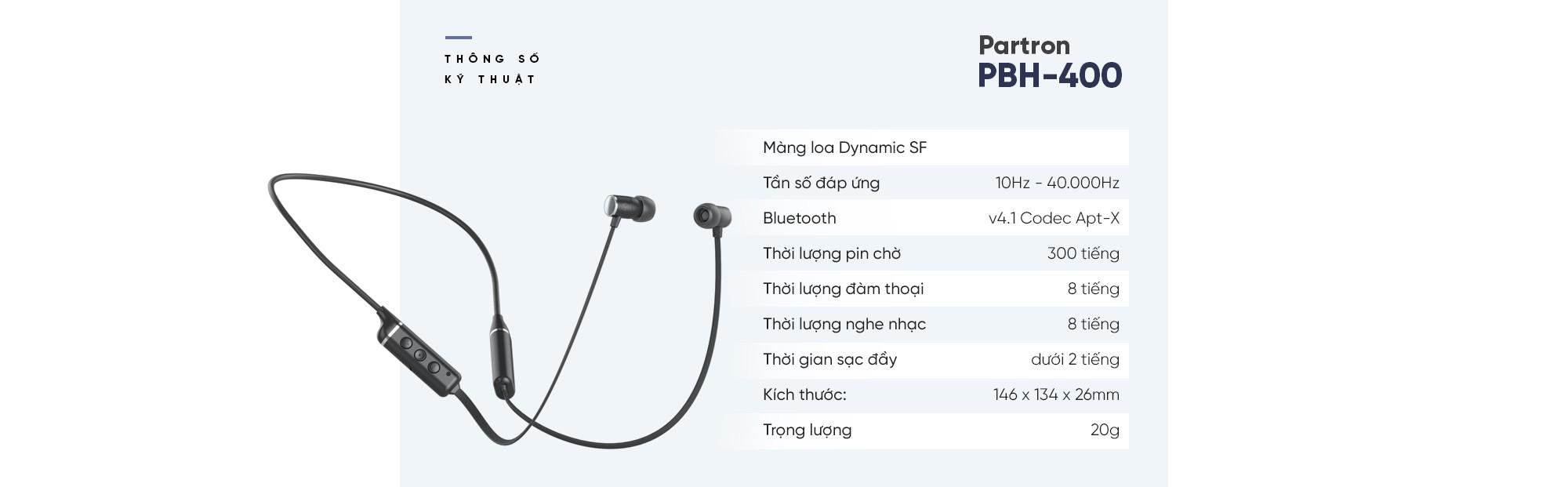 Đánh giá tai nghe không dây Partron PBH-400 - Tính chuẩn mực cao tạo nên một sản phẩm đáng mua - Ảnh 13.