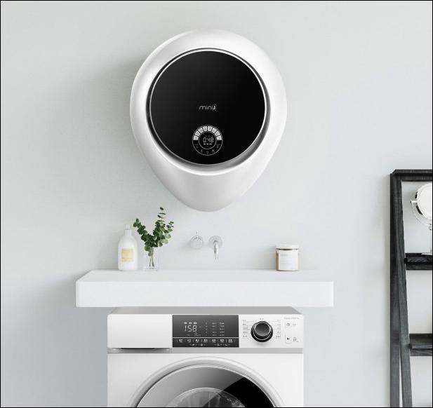 Xiaomi ra mắt máy giặt treo tường MiniJ, 8 chế độ, diệt vi khuẩn 99,99%, giá 379 USD - Ảnh 1.
