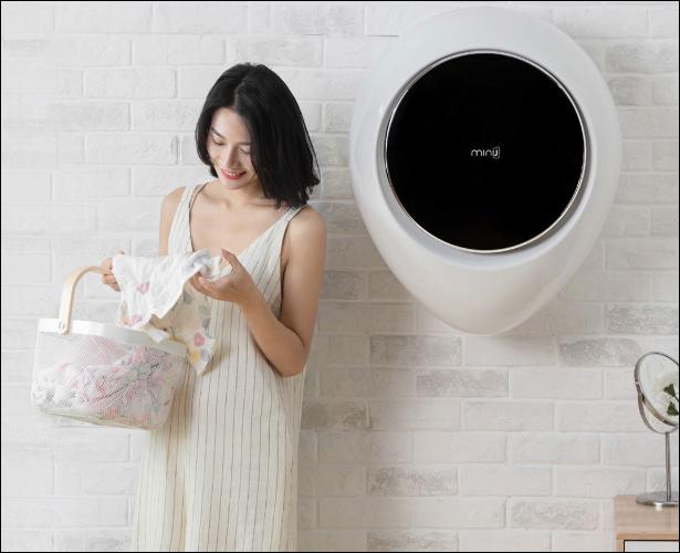 Xiaomi ra mắt máy giặt treo tường MiniJ, 8 chế độ, diệt vi khuẩn 99,99%, giá 379 USD - Ảnh 3.
