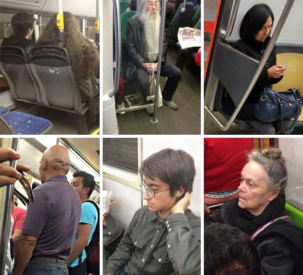 [Vui] Cưỡi bình cứu hỏa cho tới ăn bắp cải sống, đây là những hành khách kỳ lạ nhất tại ga tàu - Ảnh 1.