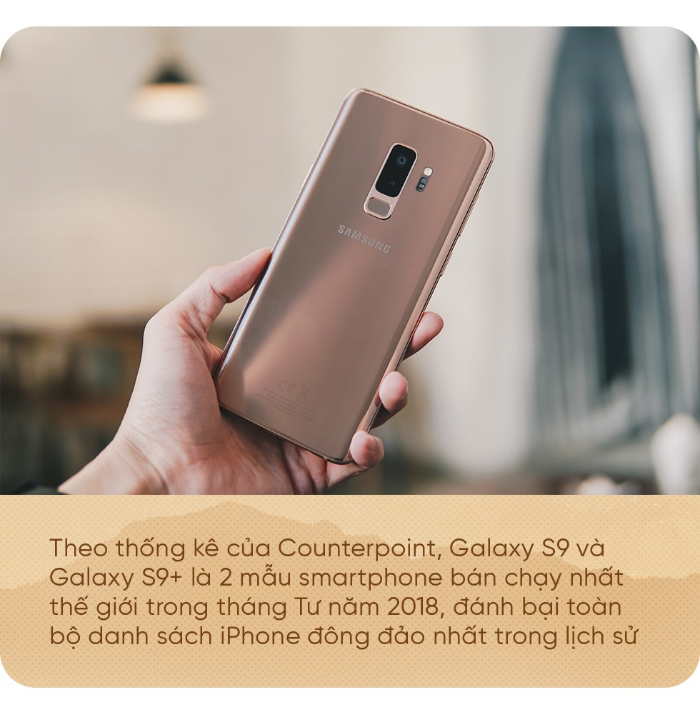 Bằng Galaxy S9+ Hoàng Kim, Samsung chứng tỏ vị trí dẫn đầu thiết kế trên smartphone - Ảnh 4.