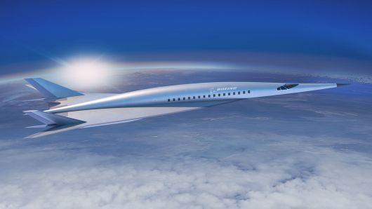 Boeing trình làng ảnh dựng máy bay siêu thanh có khả năng bay từ Los Angeles tới Tokyo trong 3 giờ - Ảnh 1.