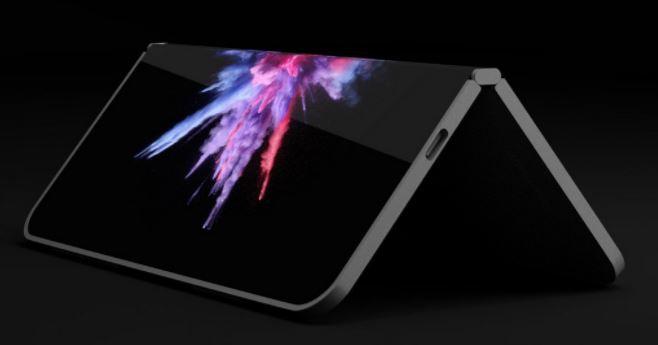 Bất ngờ với hình ảnh concept đẹp đến ngỡ ngàng của smartphone màn hình gập Surface Phone - Ảnh 1.