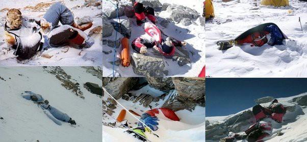 Câu chuyện của Giày Xanh - xác chết nổi tiếng nhất trên đỉnh Everest, cột mốc chỉ đường cho dân leo núi - Ảnh 2.