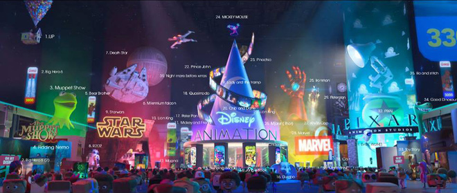 Ông lớn Disney khoe của đội hình toàn sao trong trailer nóng hổi của Wreck-It Ralph 2 - Ảnh 7.