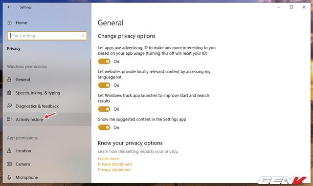Cách vô hiệu hóa tính năng Timeline đầy phiền phức trên Windows 10 - Ảnh 3.