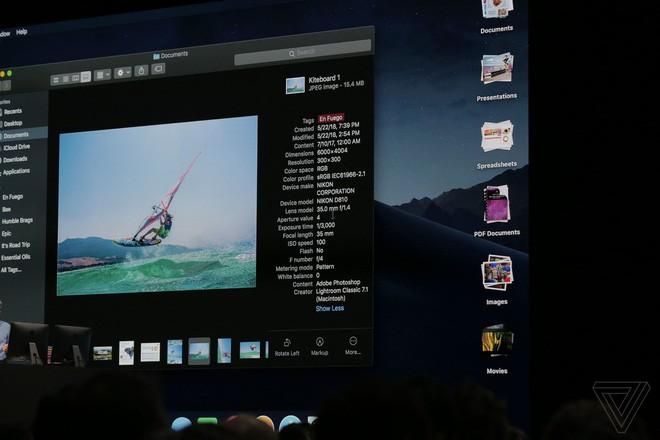 12 tính năng nổi bật nhất trên hệ điều hành macOS Mojave mà Apple vừa ra mắt tại WWDC 2018 - Ảnh 4.