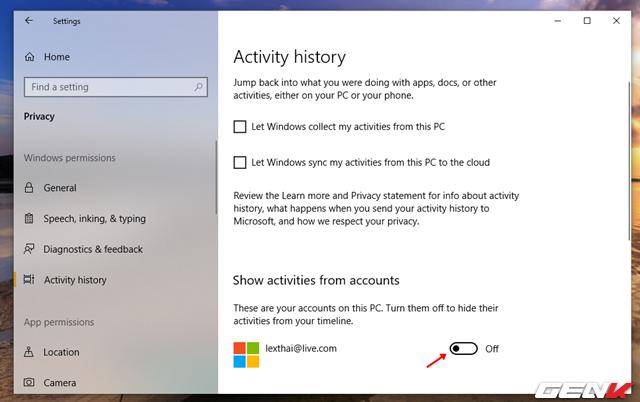 Cách vô hiệu hóa tính năng Timeline đầy phiền phức trên Windows 10 - Ảnh 5.