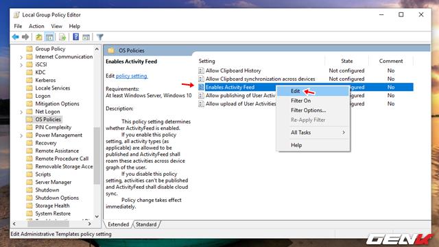 Cách vô hiệu hóa tính năng Timeline đầy phiền phức trên Windows 10 - Ảnh 8.