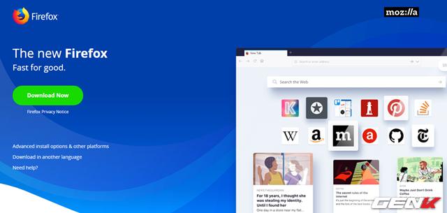 Tự tay tô màu cho trình duyệt Firefox với tiện ích được phát hành bởi chính Mozilla - Ảnh 2.