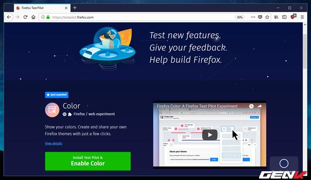 Tự tay tô màu cho trình duyệt Firefox với tiện ích được phát hành bởi chính Mozilla - Ảnh 4.