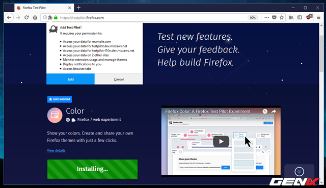 Tự tay tô màu cho trình duyệt Firefox với tiện ích được phát hành bởi chính Mozilla - Ảnh 5.