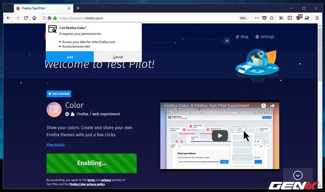 Tự tay tô màu cho trình duyệt Firefox với tiện ích được phát hành bởi chính Mozilla - Ảnh 6.