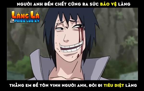 Tư tưởng của Sasuke khiến người đọc bất ngờ lên bất ngờ xuống chỉ vì nó quá... ảo