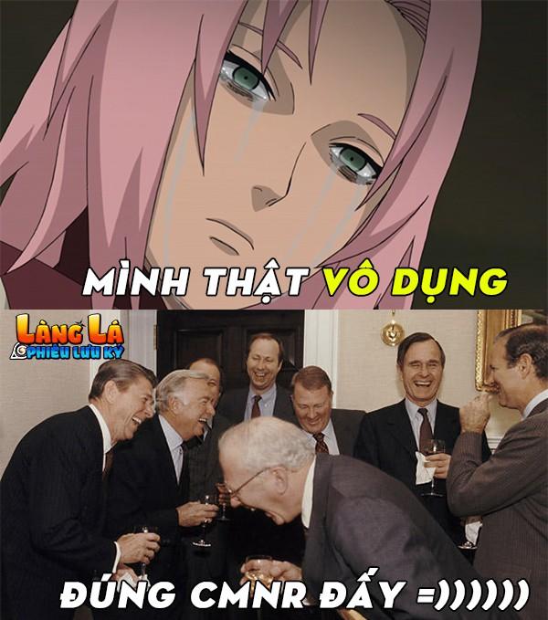 Trong cả bộ truyện Naruto thì nhân vật này nói thật ra là... phế không chịu được