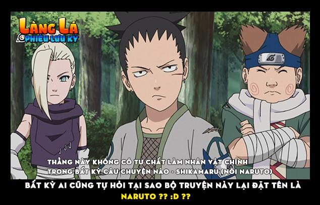 Đến cả nhân vật phụ cũng phải thắc mắc về sự ngờ nghệch của Naruto