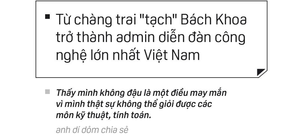 Cu Hiệp: từ chàng trai tạch Bách Khoa trở thành admin diễn đàn công nghệ lớn nhất Việt Nam - Ảnh 1.