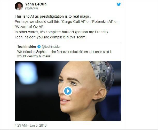 Giám đốc AI của Facebook tuyên bố: Sophia chỉ là con rối - nữ robot đáp trả thế nào? - Ảnh 2.