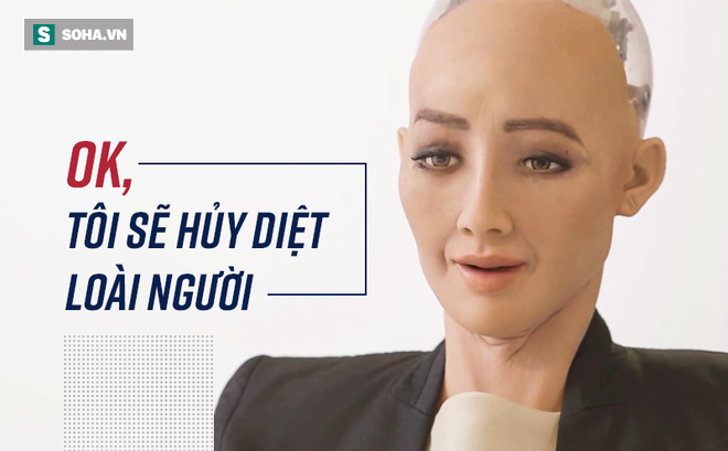 Hồ sơ khủng của robot Sophia từ khi được làm người cho đến khi sang Việt Nam - Ảnh 2.