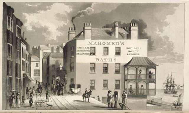Ông nội của Akbar Mahomed tới Anh và xây dựng những cơ sở chữa bệnh cổ truyền Ấn Độ như thế này