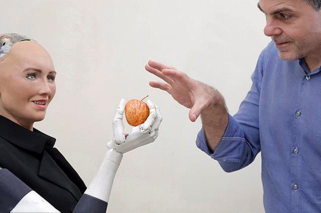 Robot Sophia được chế tạo thế nào? - Ảnh 1.