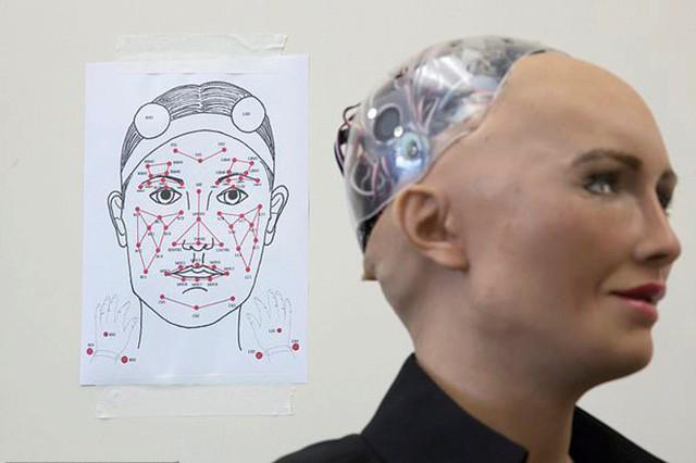 Robot Sophia được chế tạo thế nào? - Ảnh 4.