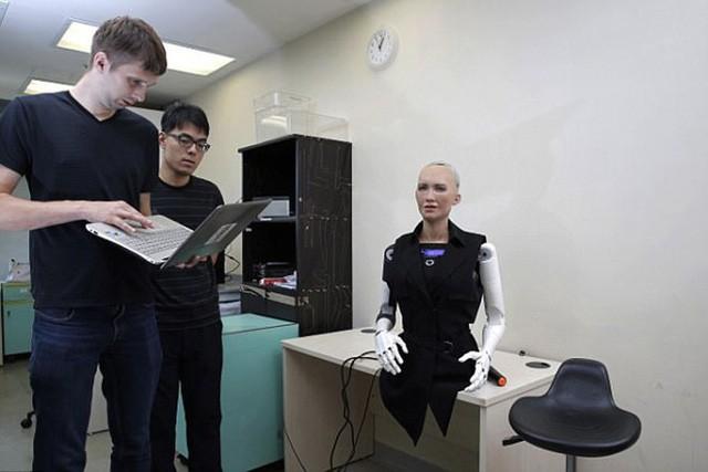Robot Sophia được chế tạo thế nào? - Ảnh 5.