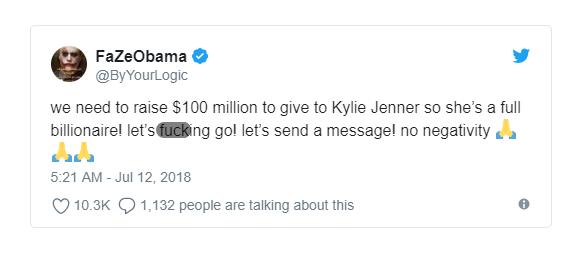 Đùa như thật: Internet đang quyên tiền giúp Kylie Jenner soán ngôi tỷ phú tự thân giàu nhất thế giới của Mark Zuckerberg - Ảnh 2.