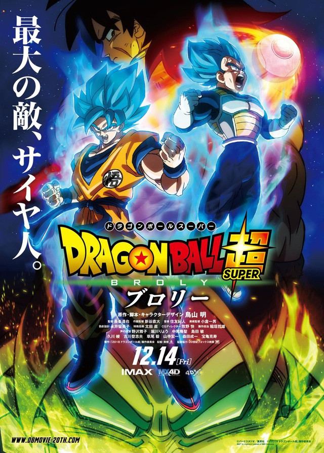 Hé lộ tạo hình của siêu Saiyan huyền thoại Broly trong Dragon Ball Super Movie - Ảnh 1.