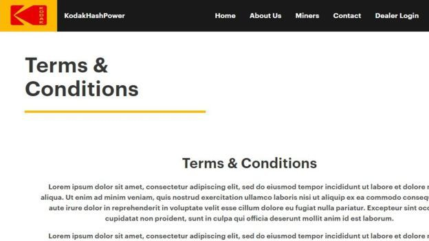 Thậm chí trang web còn chưa hoàn thiện.