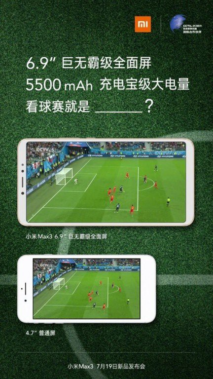 Sát thủ tầm trung Xiaomi Mi Max 3 lộ toàn bộ thông số, màn hình 6.9 inch, pin 5.500 mAh - Ảnh 3.
